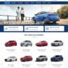 Mẫu web bán xe hơi