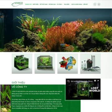 Web hồ thủy sinh