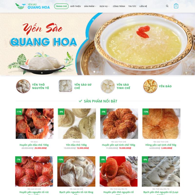Yến sào Quang Hoa